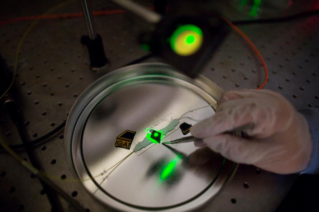The entire device is only a few millimeters in size (Photo: University of Michigan)