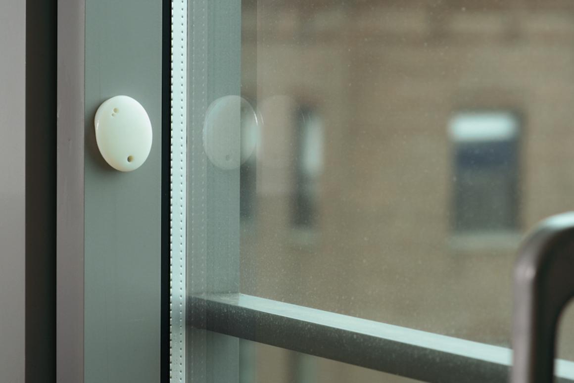 The Oval sensor tracks motion, light, temperature, moisture and proximity