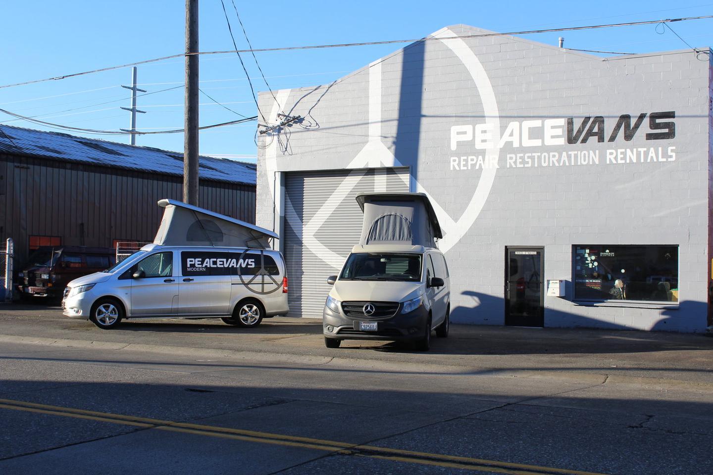 Peace Vans puts a compact, flexible Mercedes camper van on