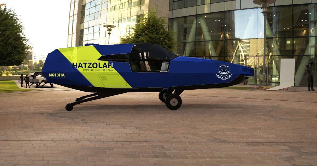 CityHawk VTOL preordered by New York-based EMS organization