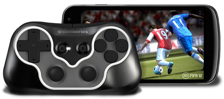 SteelSeries' Ion Controller is almost as compact as a typical smartphone