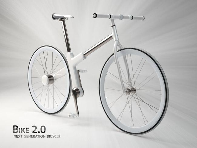 Nils Sveje's Bike 2.0, grand prize winner of the Seoul Cycle Design Competition 2010