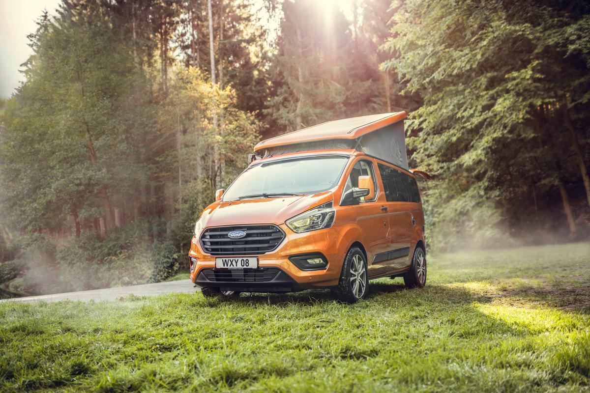 Ford Nugget camper van