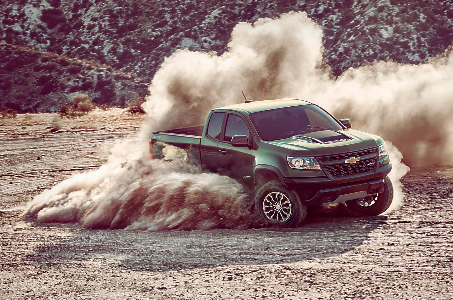 The Colorado ZR2 was previewed two years ago