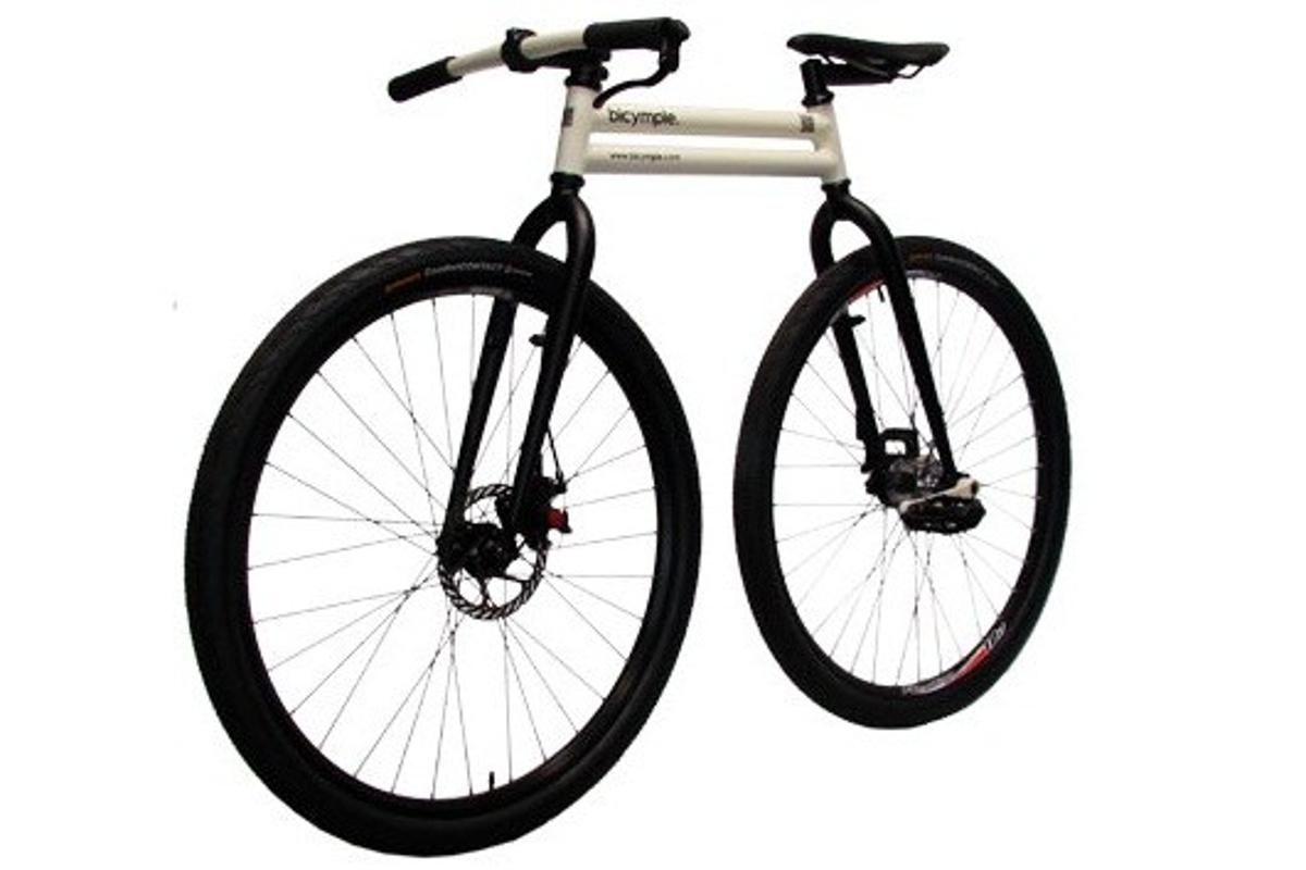 """The Bicymple – one of the more """"out-of-the-box"""" cycling products that we covered last year"""