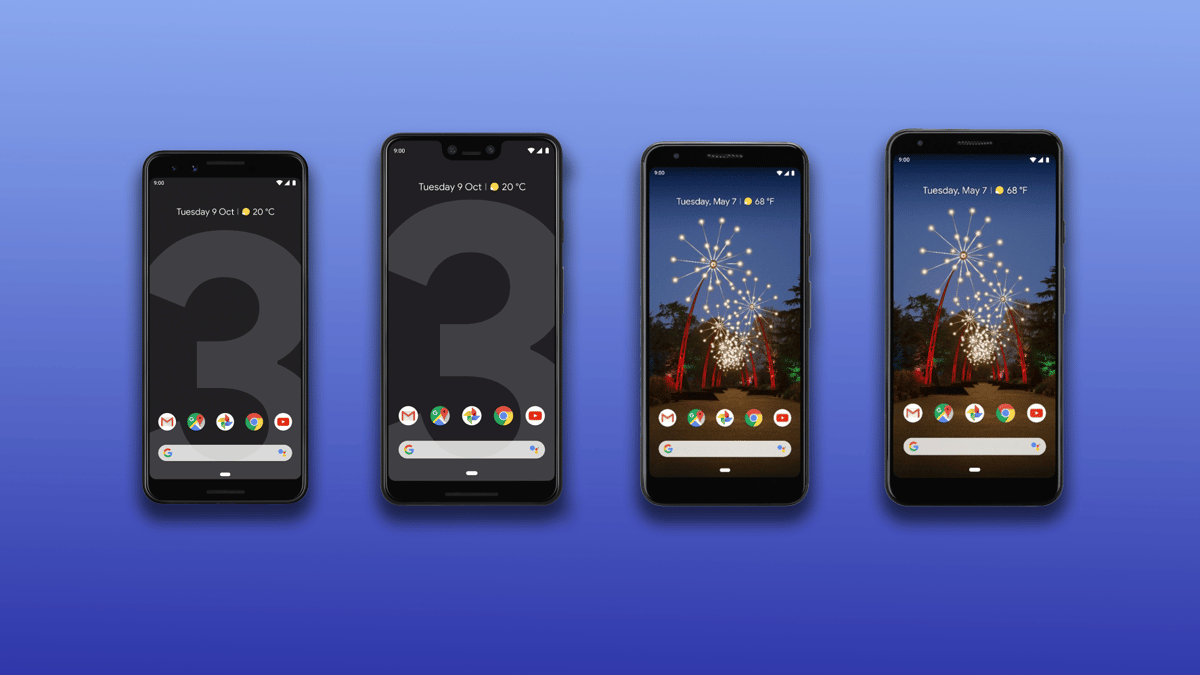 New Atlas compares the specs and features of the Google Pixel 3,3 XL, 3a and 3a XL