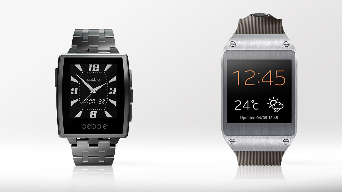 Gizmag compares the features and specs of the Pebble Steel and Samsung Galaxy Gear smartwatches