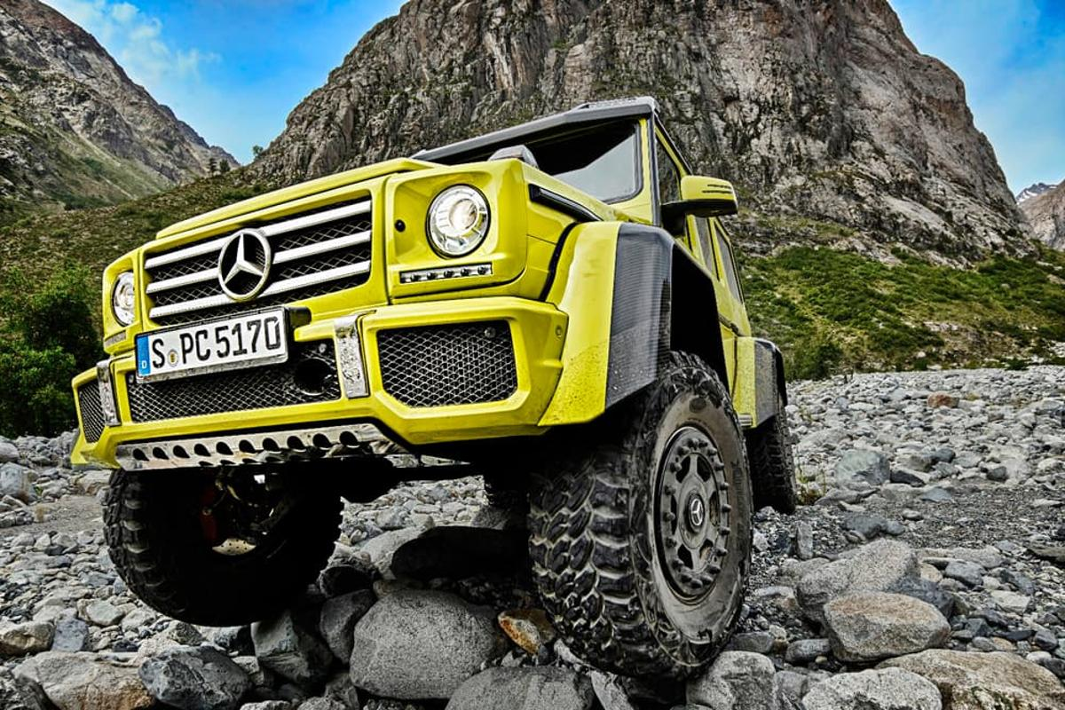 """The most capable G-Class ever"""