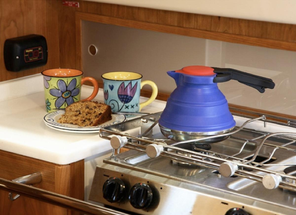 The four-cup SlickBoil retails for US$35