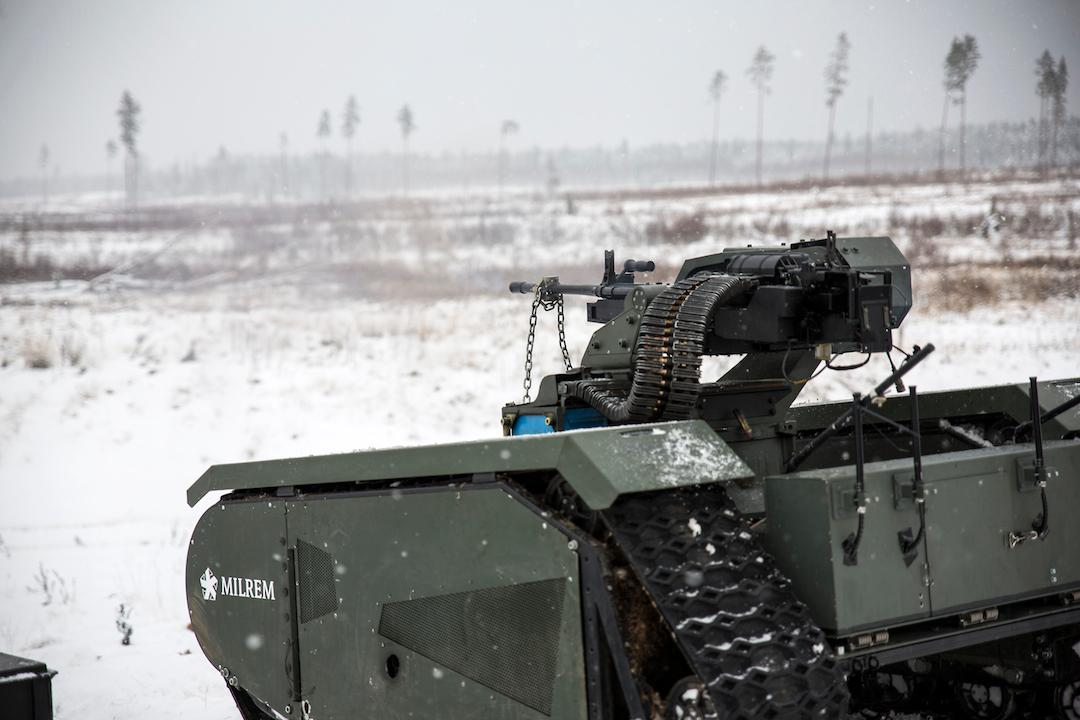 THeMIS ADDER weaponized UGV aces first live fire tests