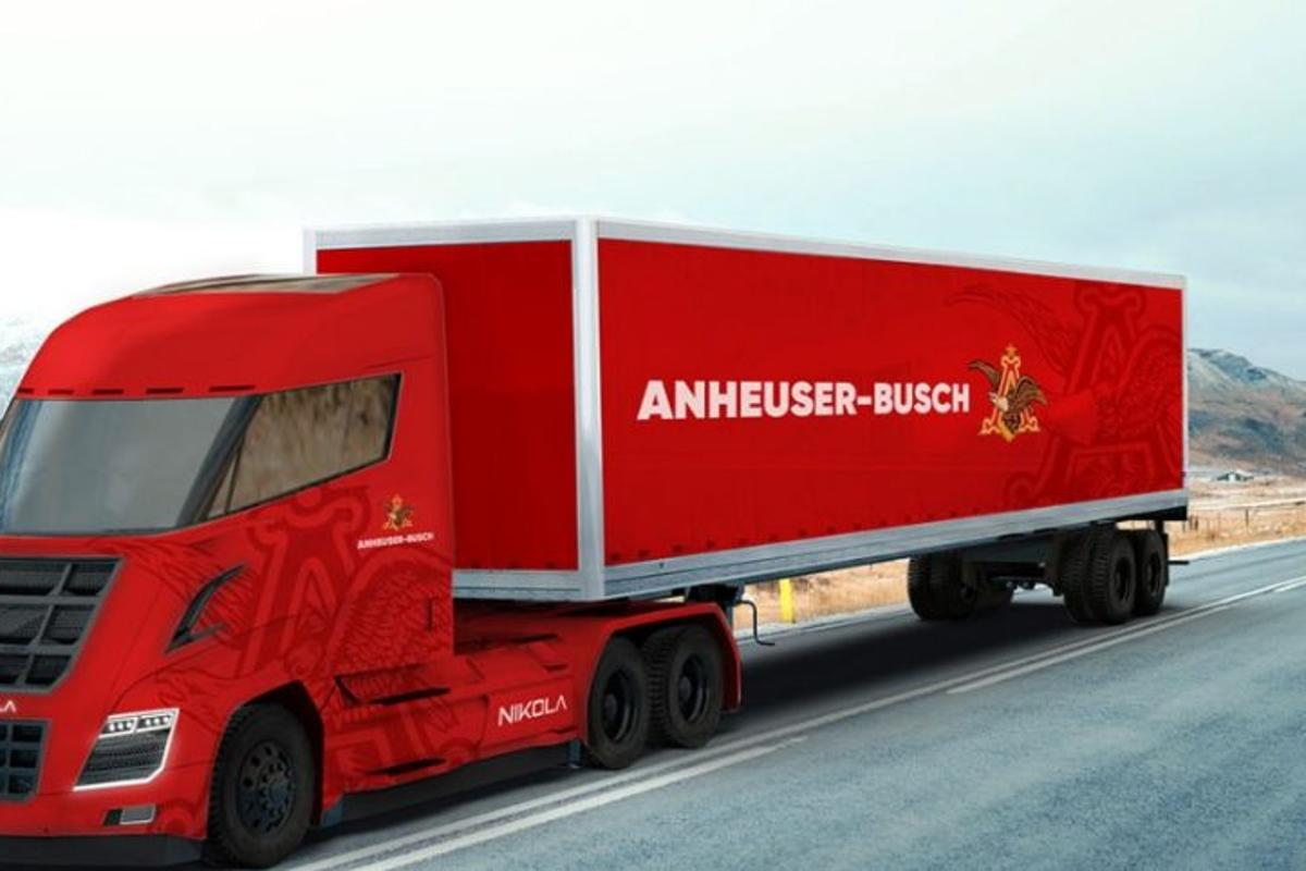 The so-called Nikola One isa clean-burning big rig with a claimed range of 800 to 1,200 mi (1,287 to 1,931 km)