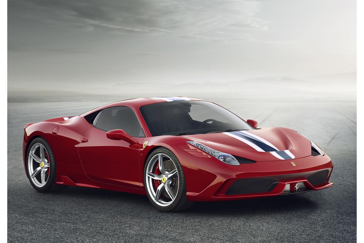 The all-new Ferrari 458 Speciale debuts at the 2013 Frankfurt Motor Show