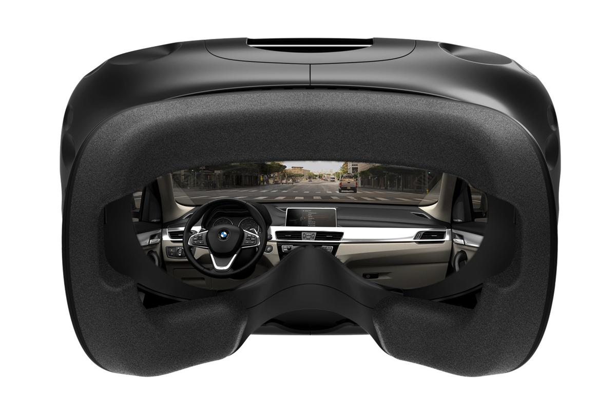 BMW has turned away from expensive specialist VR gear, instead using consumer equipment in its development process