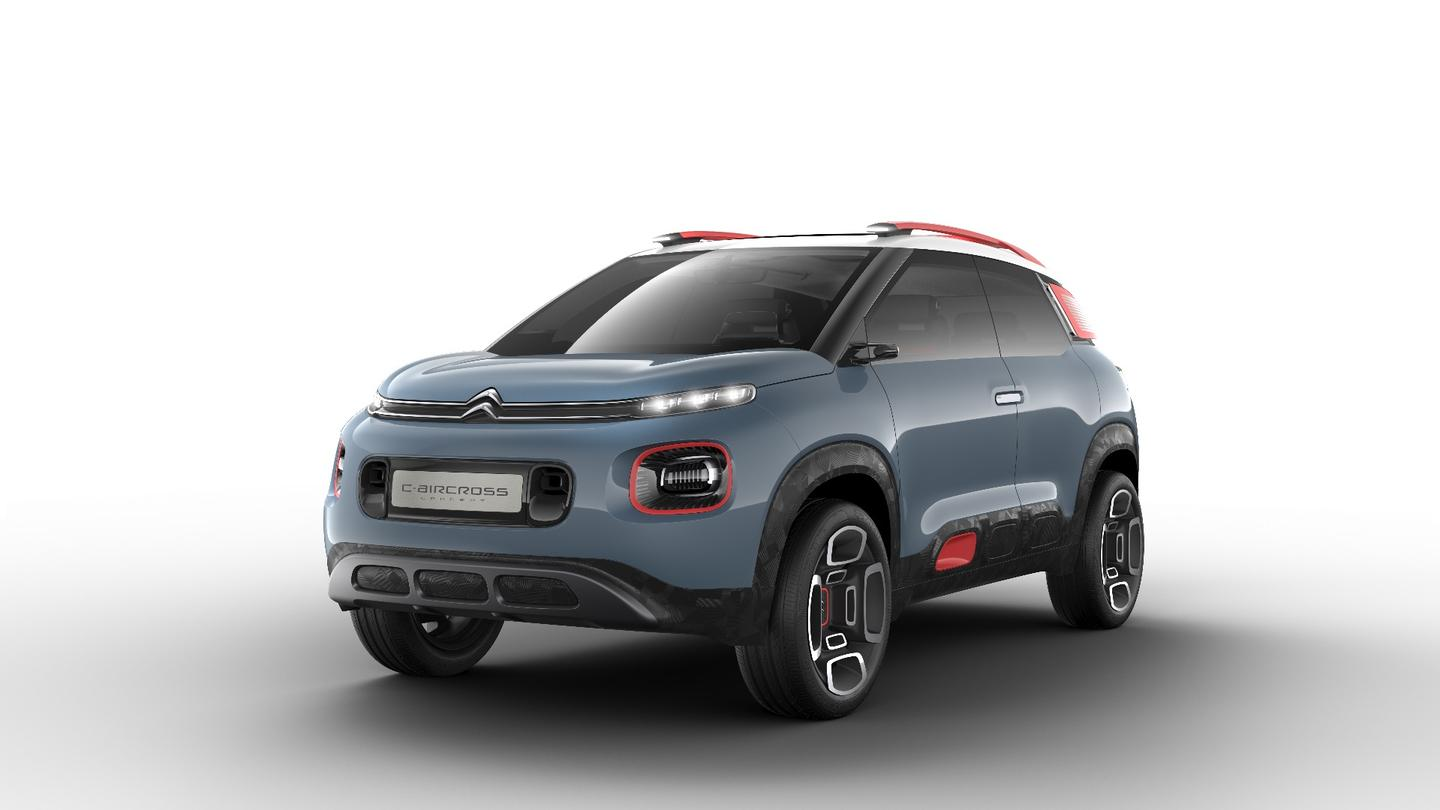 The new Citroen C-Aircross Concept will make its debut at the Geneva Motor Show