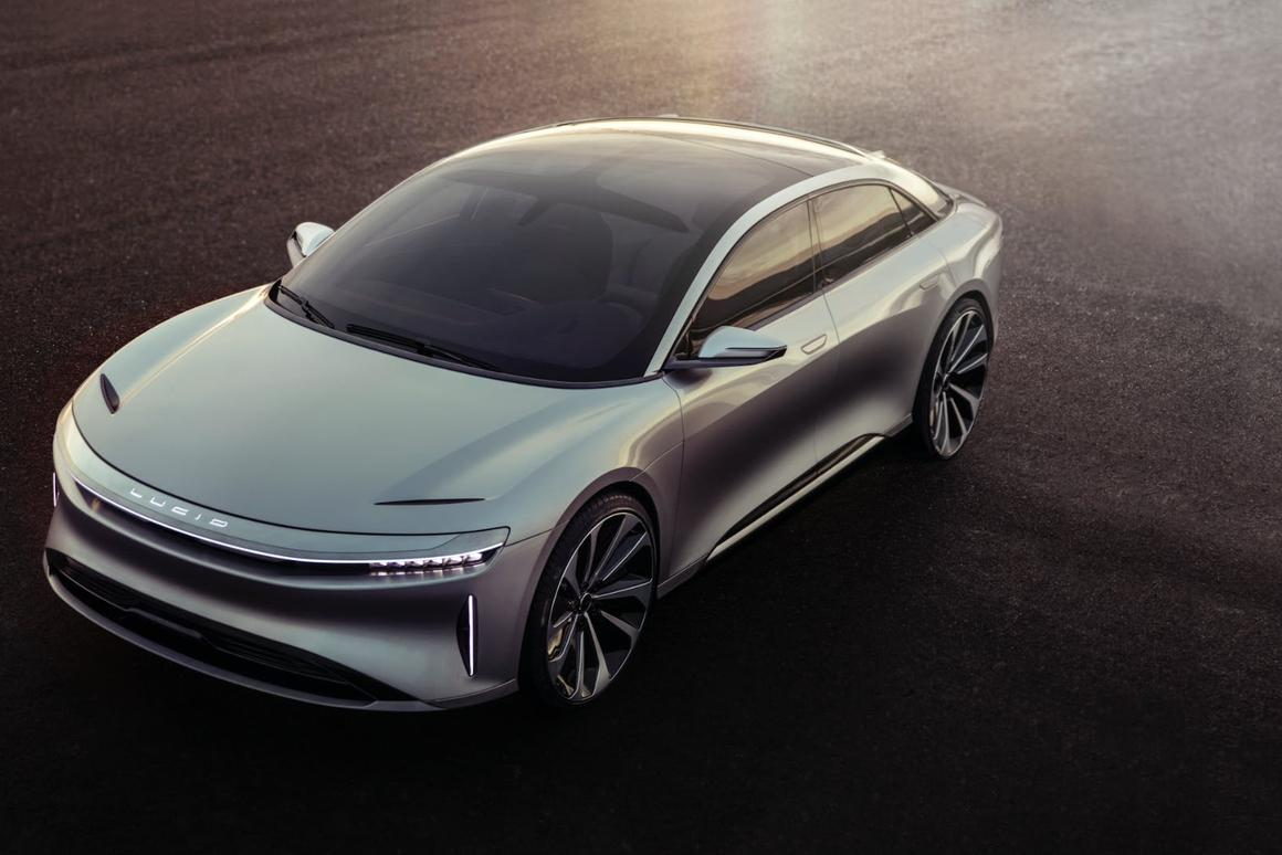 The new Lucid Air