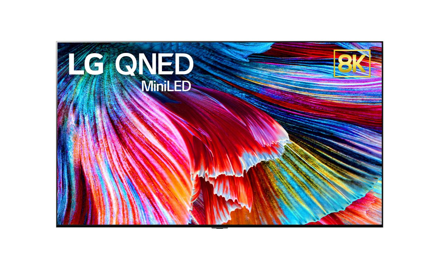 LG will introduce its new QNED TV with Mini LED backlighting at CES 2021