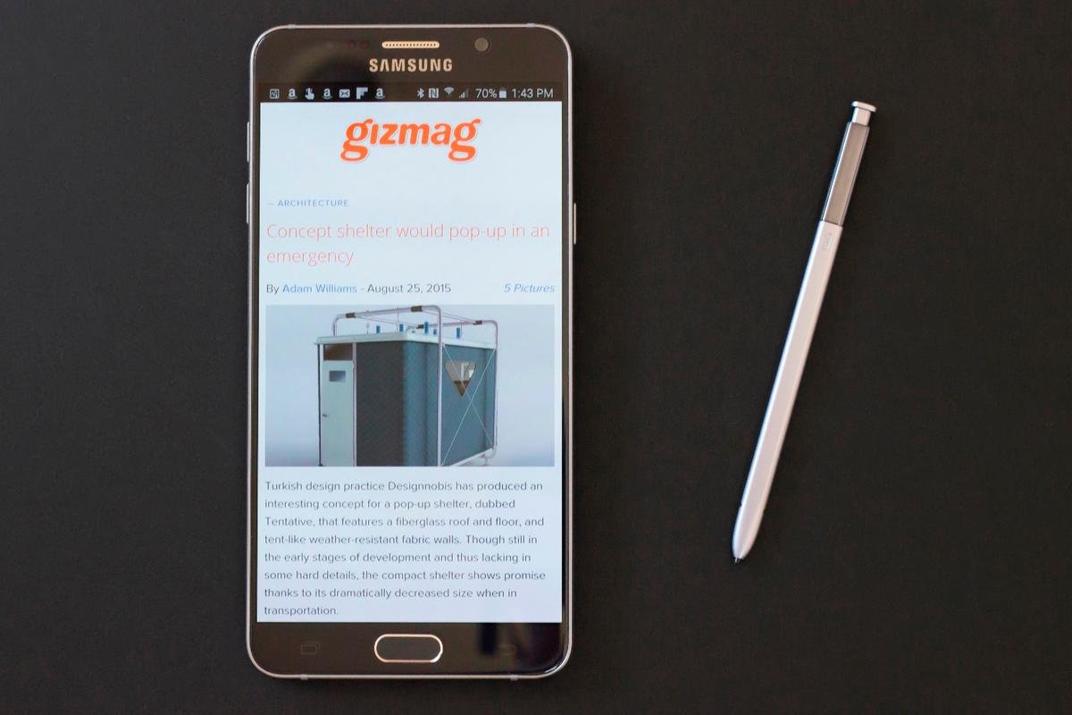 The Galaxy Note 5 improves on its predecessor in all the right ways