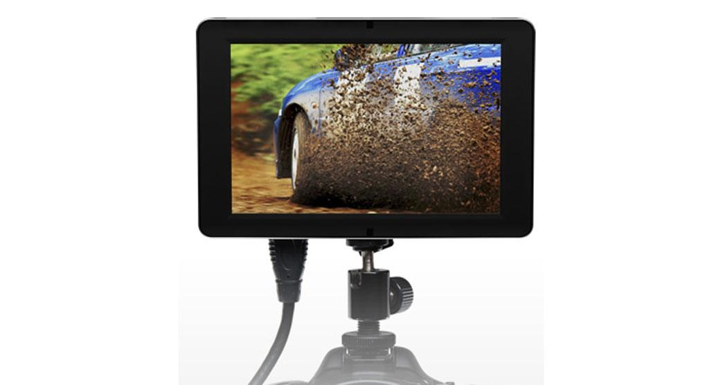 SmallHD's DP-SLR external monitor for DSLRs