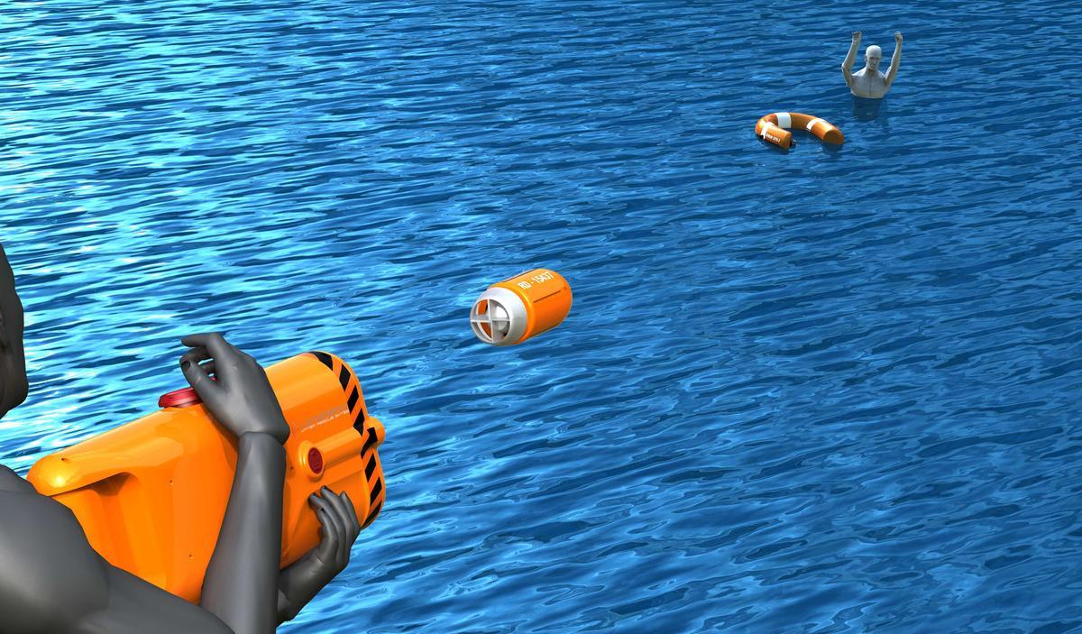 Samuel Adeloju's winning Longreach Buoyancy Deployment System