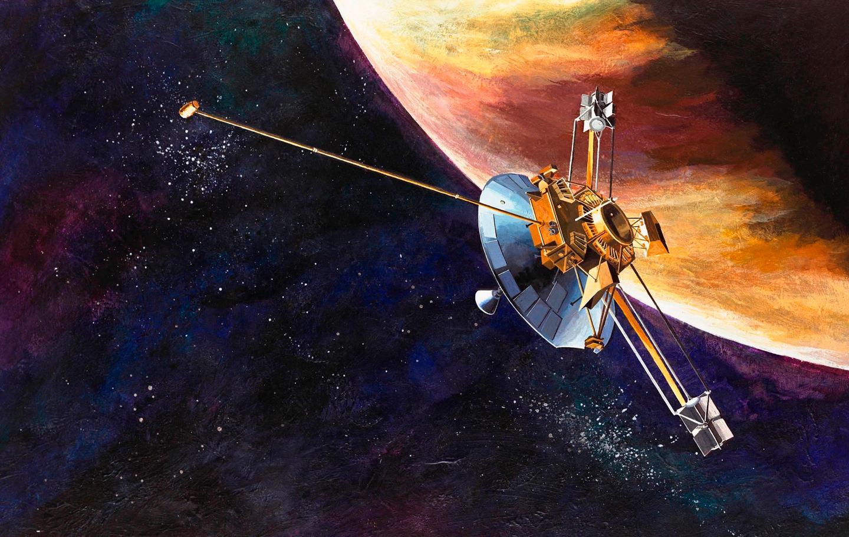 Artist's concept of Pioneer 10