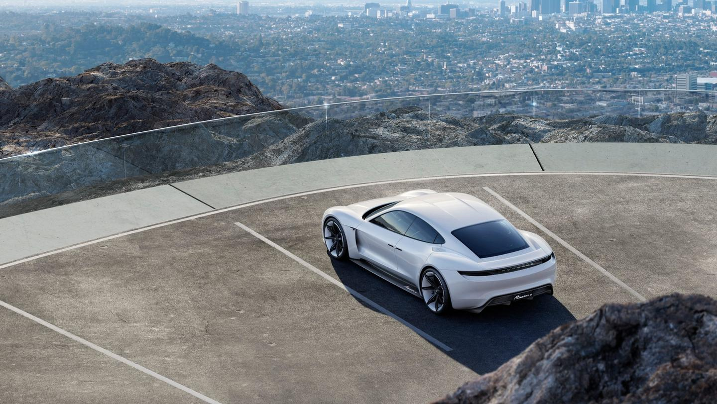 Porsche will release its Taycan electric car in 2019
