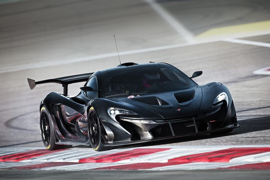 McLaren's P1 GTR is a track-only version of its P1 supercar