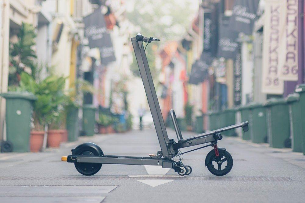 The Mimo C1 scooter is currently on Indiegogo