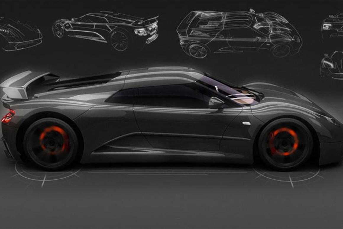 The 2015 Akylone hypercar promises 0-62 mph (0-100 km/h) time of 2.7 seconds (Photo: Genty Automobile)