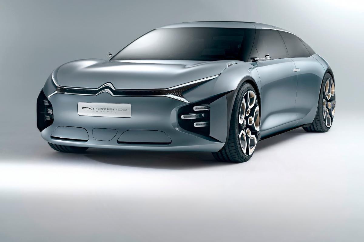 Where most concept vehicles either hint towards a new model in the works or become ultra-futuristic showings of dreamy technology, the Citroën CXperience Concept rides a line between the two