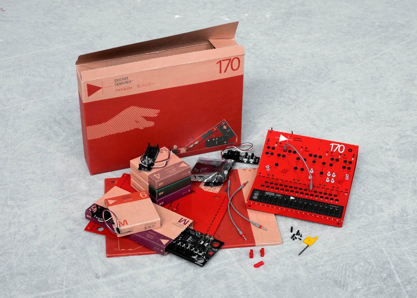 Teenage Engineering goes modular with build it yourself