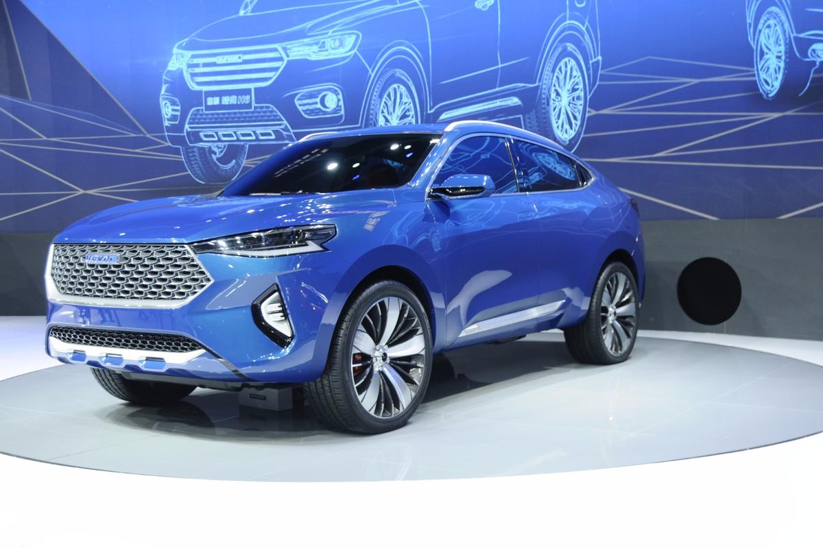 The Haval HB-03 concept on show at Auto Shanghai