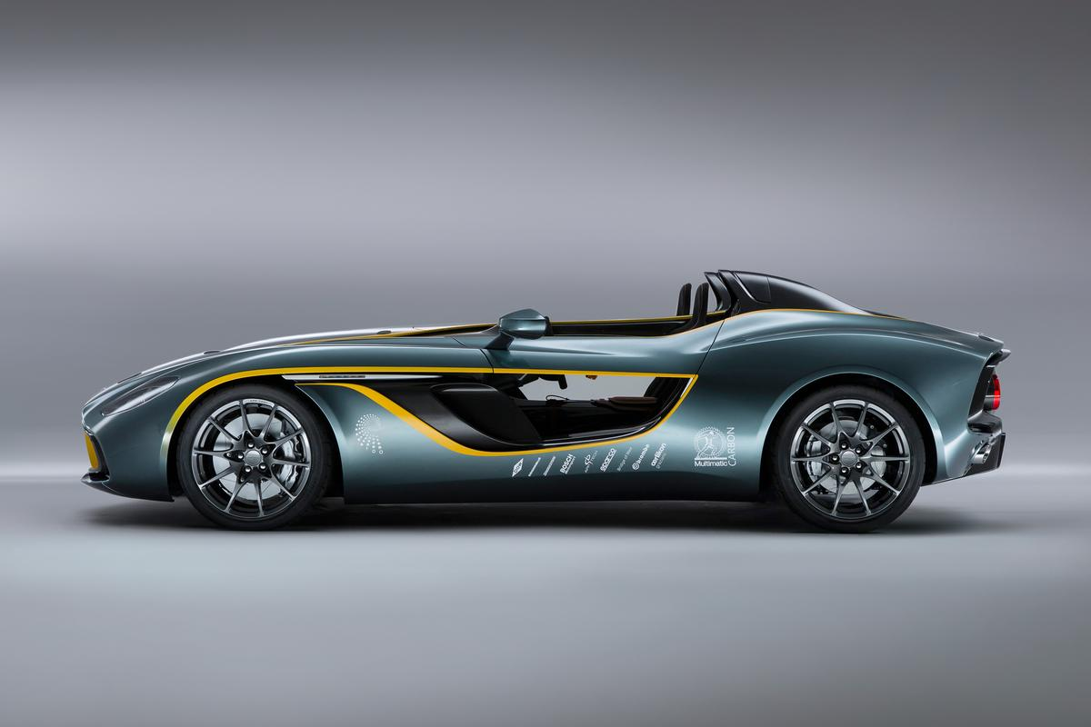 CC100 is 4.5 meters long (14.75 ft), 2.0 meters (6.57 ft) wide placing it between a DB9 and the Vantage