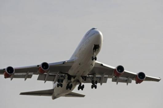 Virgin Atlantic biofuel test flight