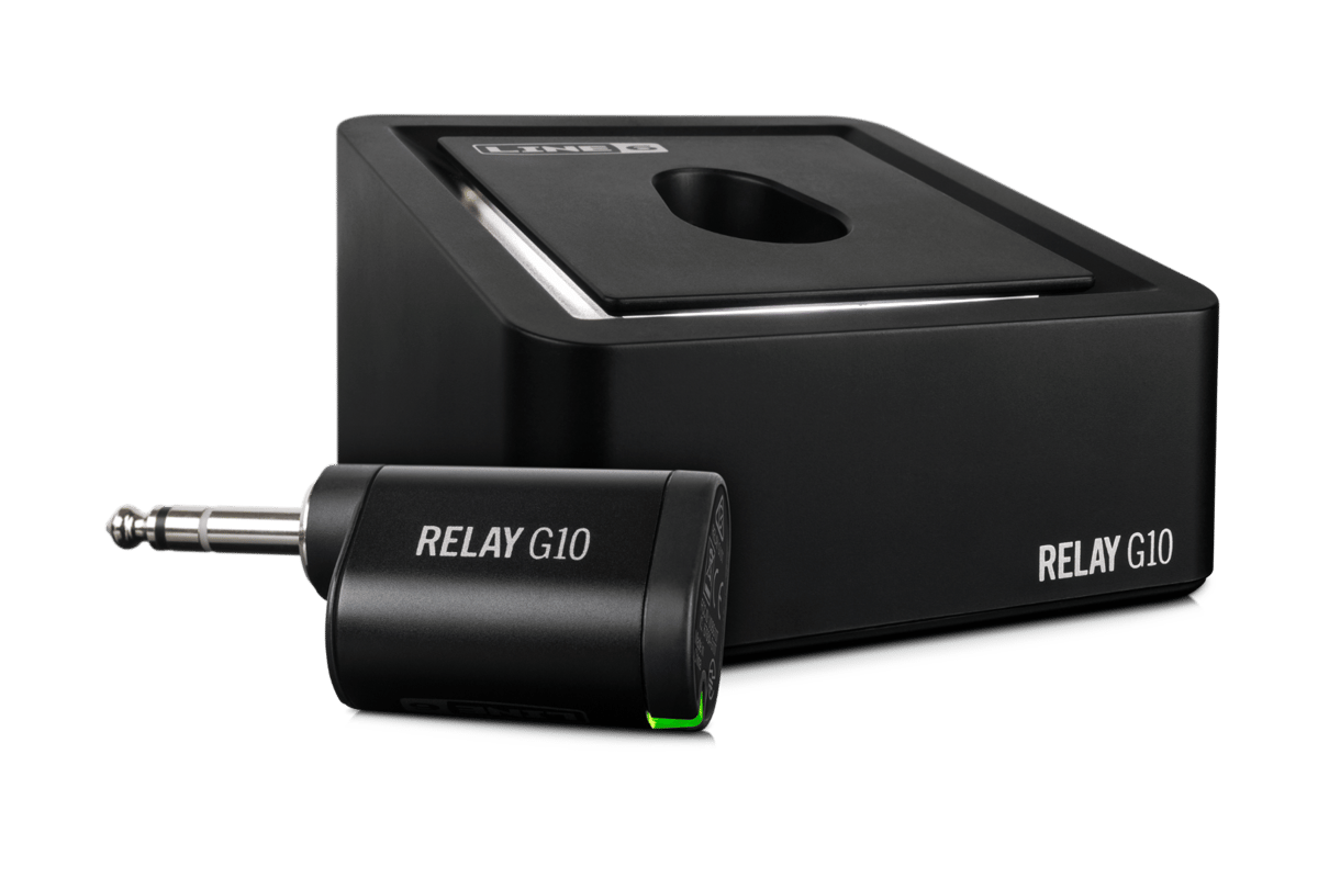 The Relay G10 plug and play wireless guitar system will be available from April 2016