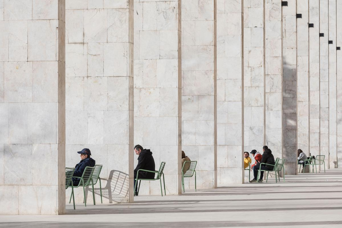 Laurian Ghinitoiu won the Buildings in Use category with this photo of Skanderbeg Square, Tirana, Albania, by 51N4E