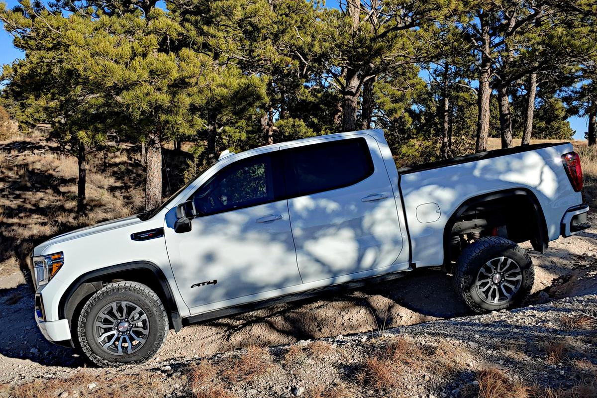 """The """"AT4 package"""" is replacing other terms for off-road packages at GMC"""