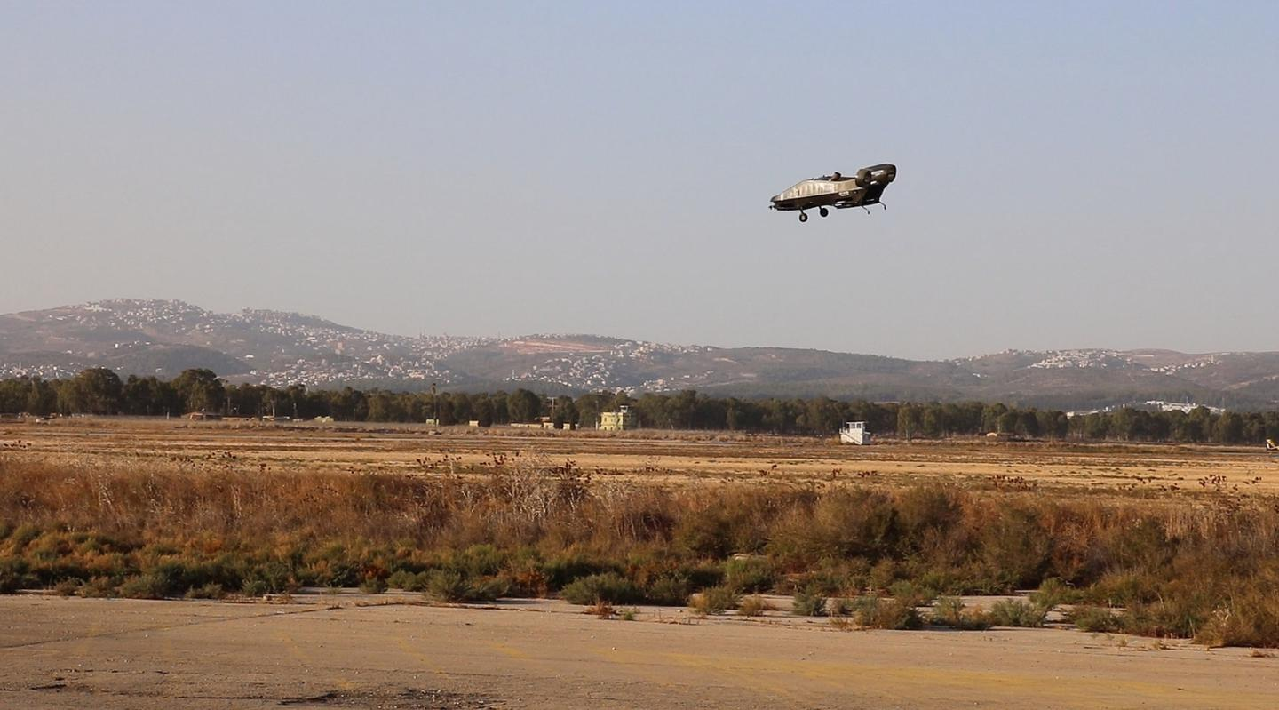 The Cormorant's latest test took place in Israel on Nov. 3rd, lasting only about two minutes and involving low flight over uneven terrain