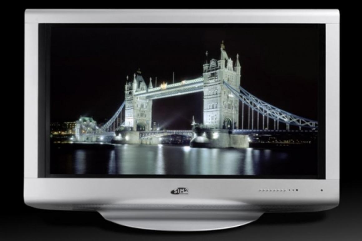 Sim2's Solar Series LED backlit LCD HDTV.