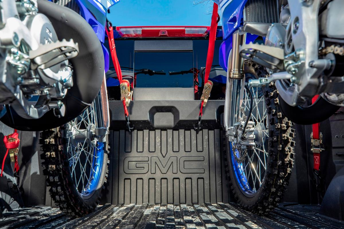 The CarbonPro truck bed is made as a carbon fiber tub, similar to what's done with high-end sports cars and race cars