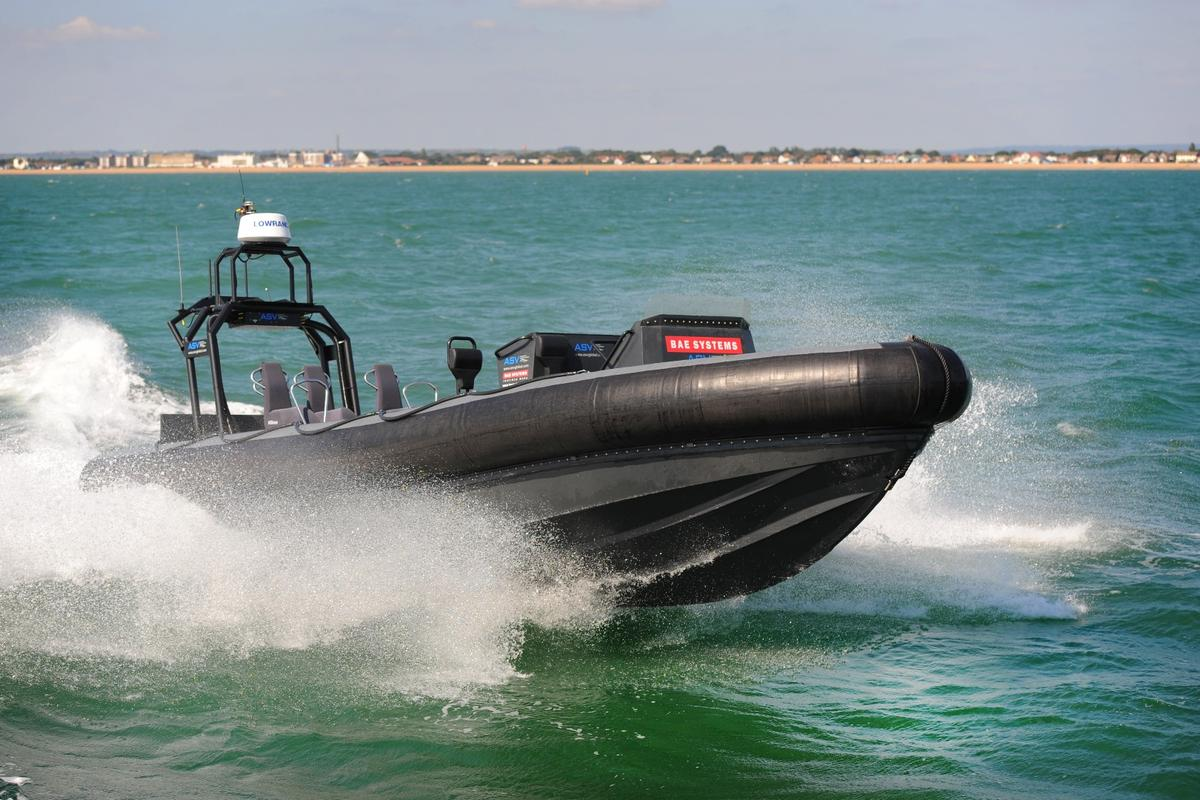 The new autonomous system is designed to be retrofitted to the manned Pacific 24 RIB