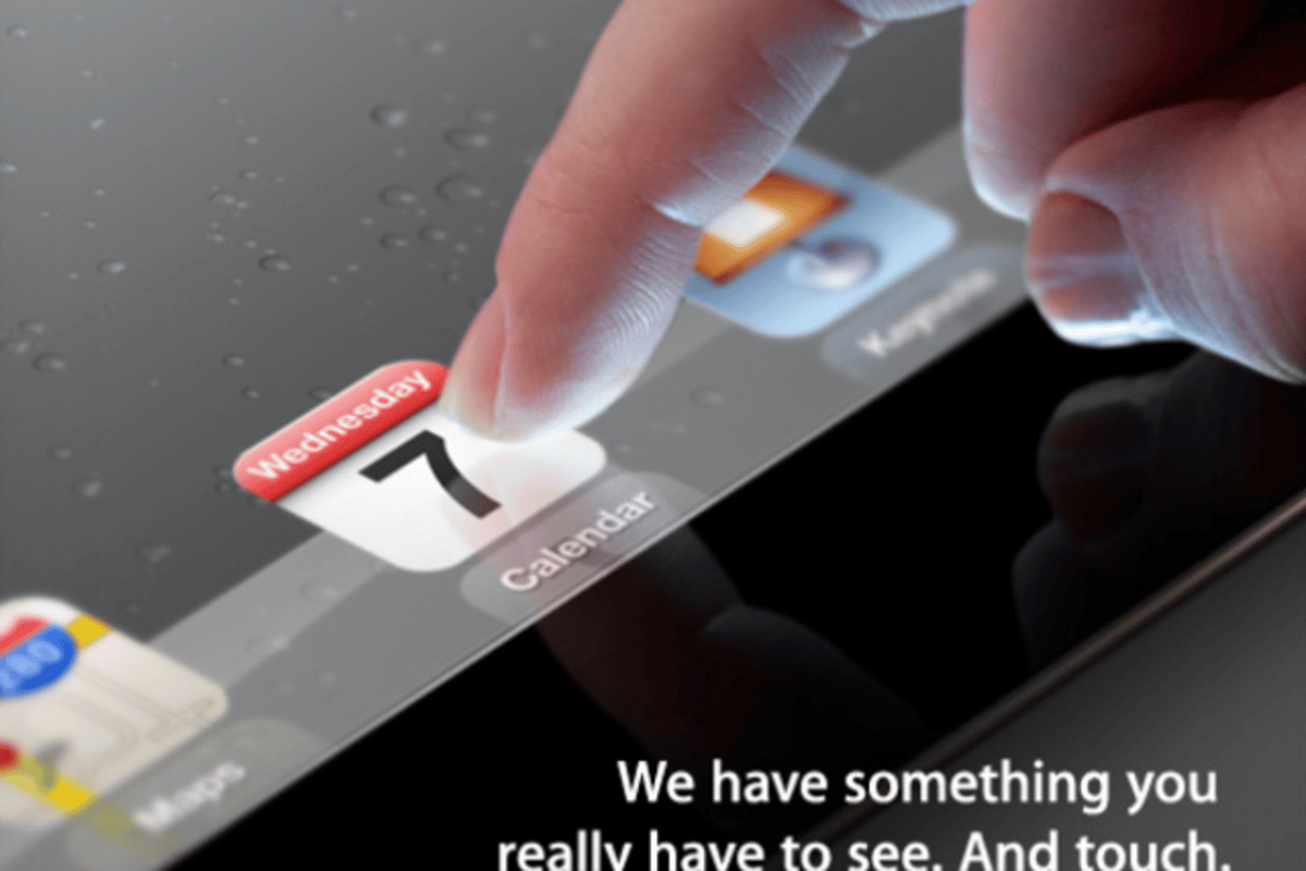 Apple sent out invites today to an event next Wednesday at the Yerba Buena Center for the Arts in San Francisco, where it is expected to announce the iPad 3