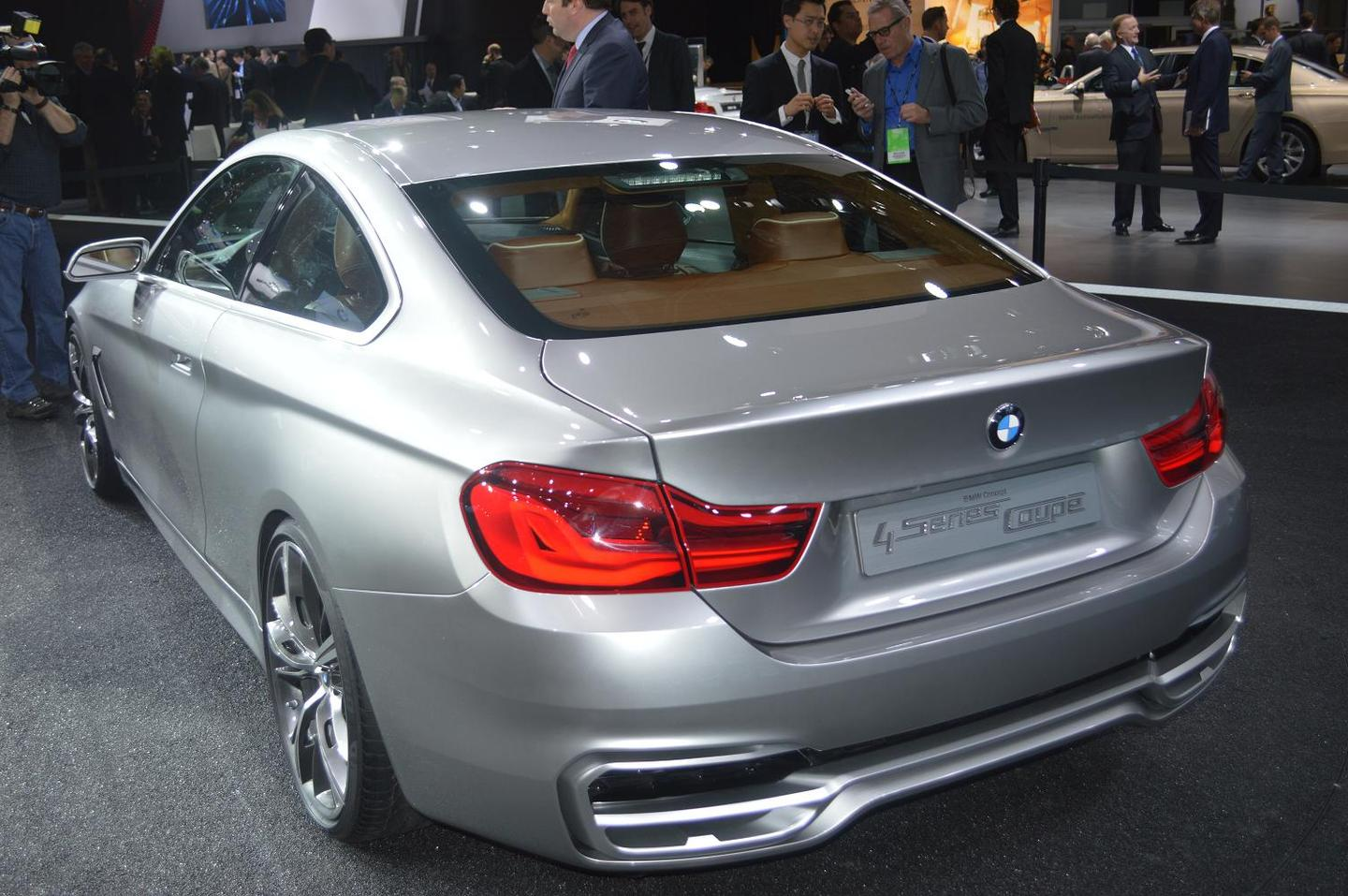The BMW Concept Series 4 at the NAIAS Detroit