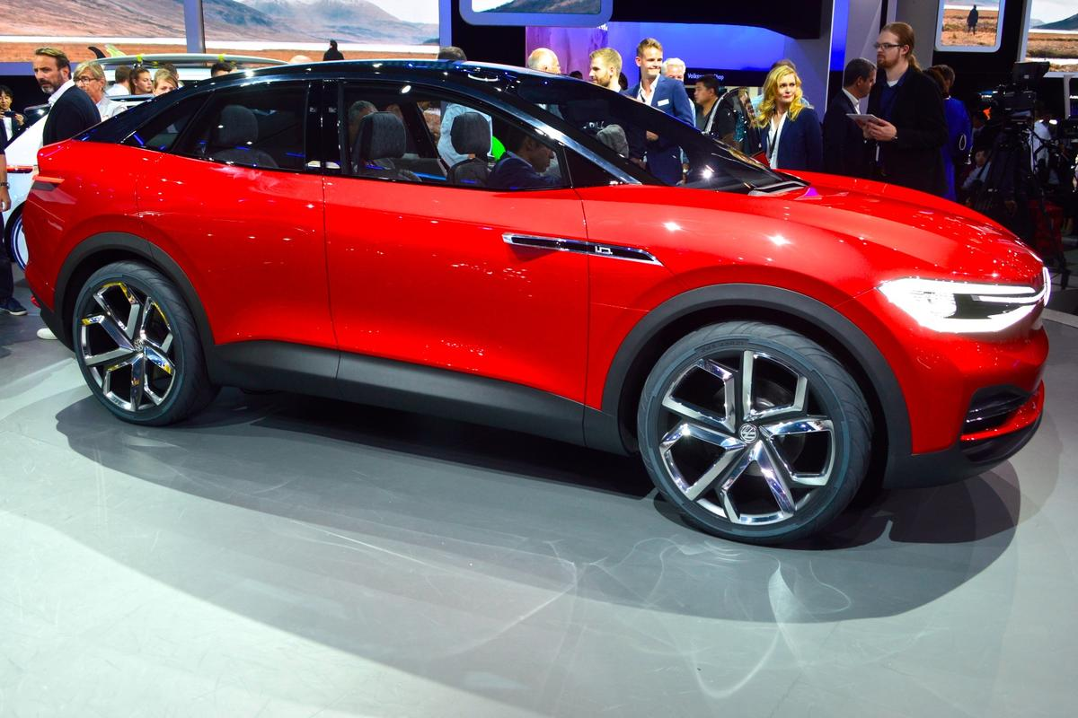 VW ID Crozz at the 2017 Frankfurt Motor Show