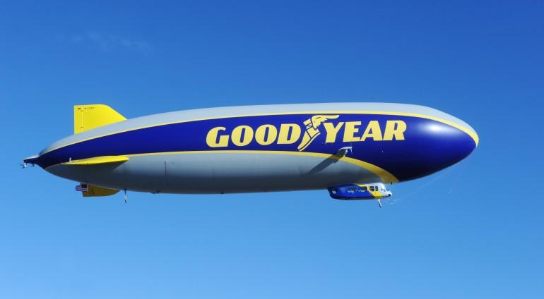 Wingfoot One takes to the skies