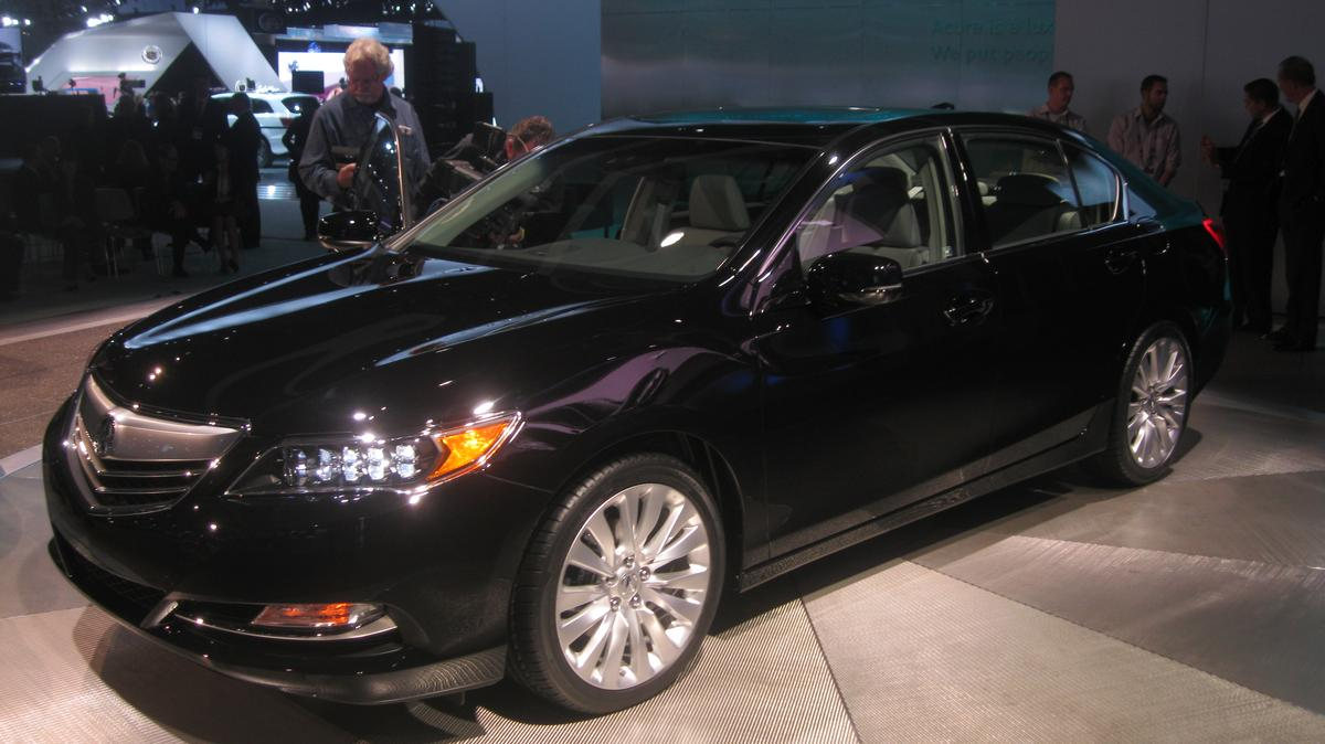 The 2014 Acura RLX made its debut at the LA Auto Show, and Gizmag was on the scene