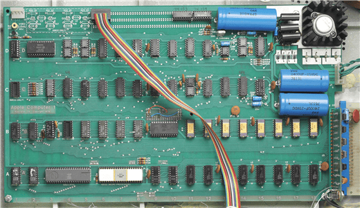 These early computers were sold without cases, power supplies, keyboards or monitors but the motherboards were pre-assembled, which set them apart from the competition at the time