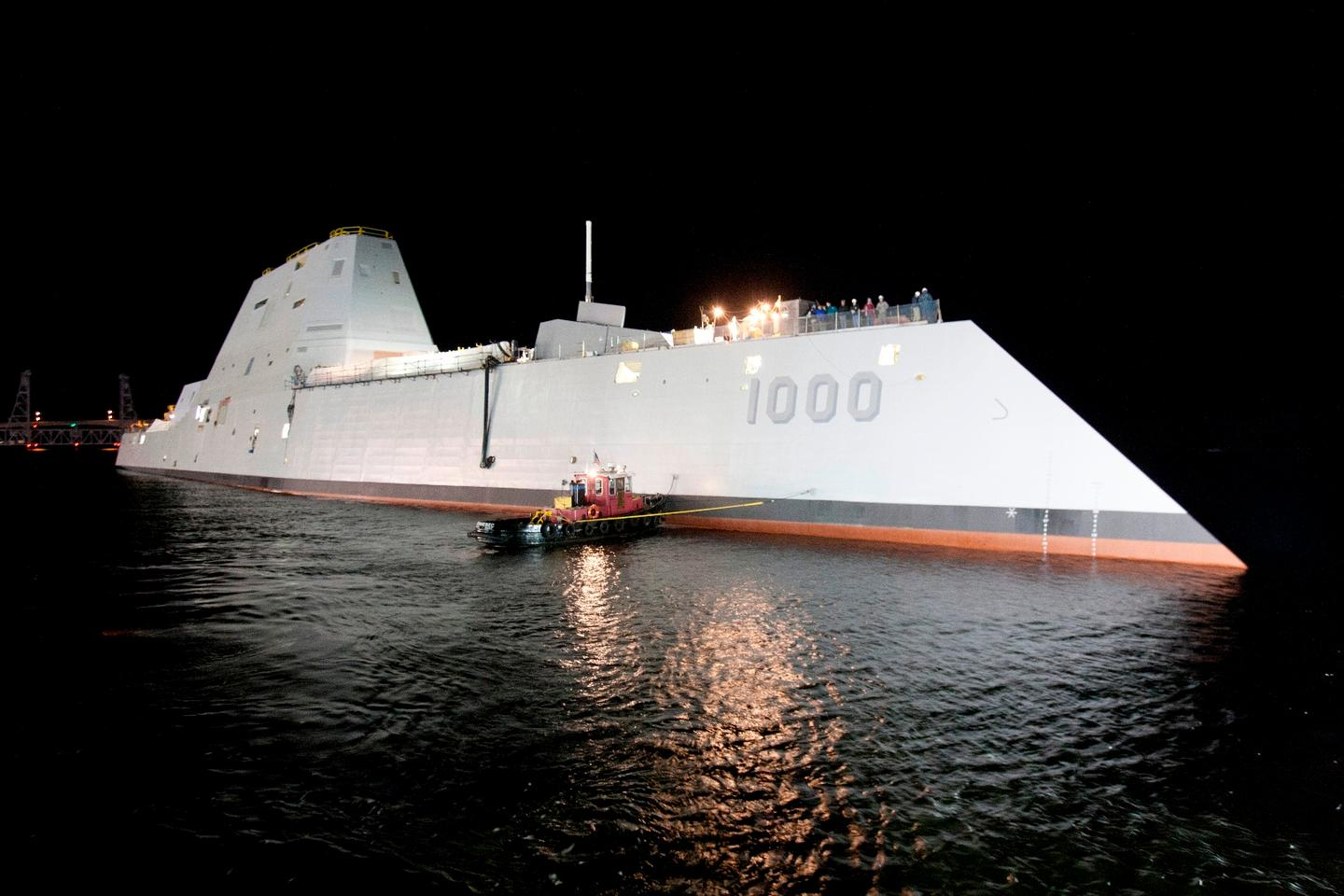 The Zumwalt was launched in 2014