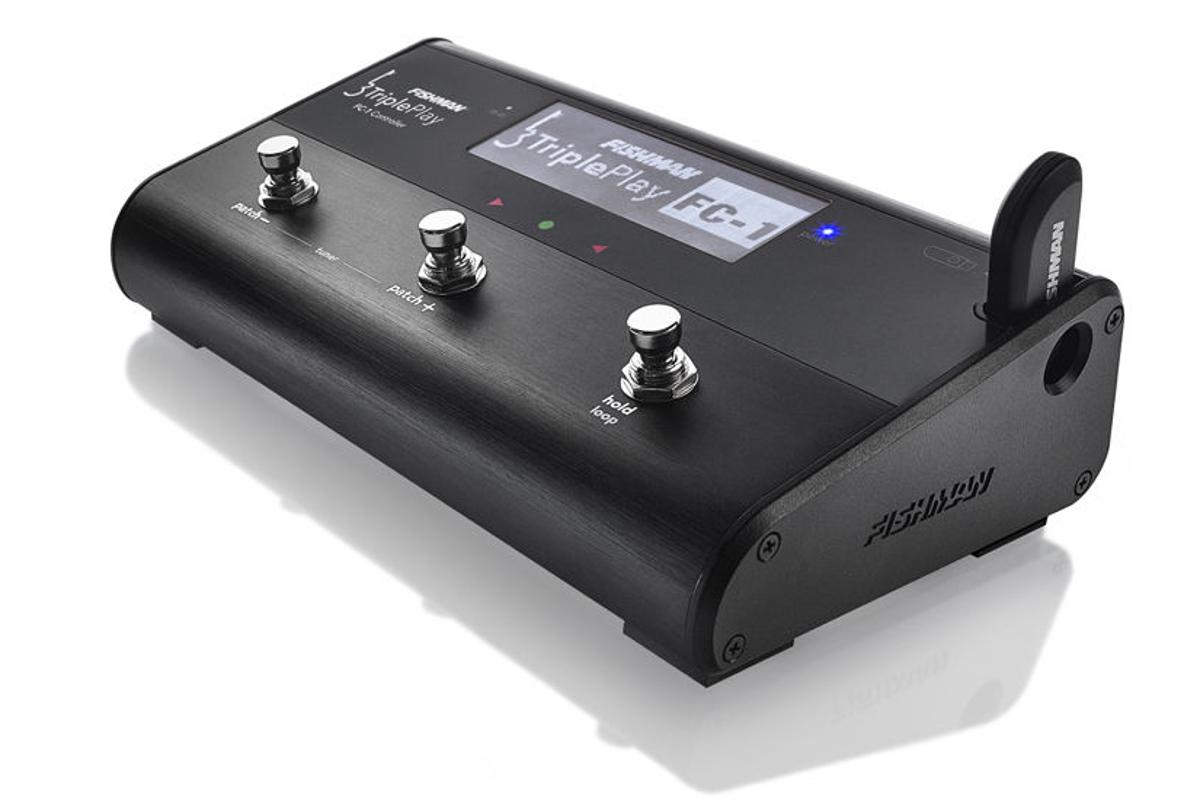 The FC-1 Floor Controller from Fishman