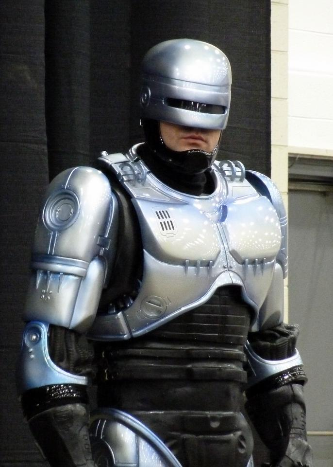 Will first responders of 2032 be Robocops? (Image: GabboT)