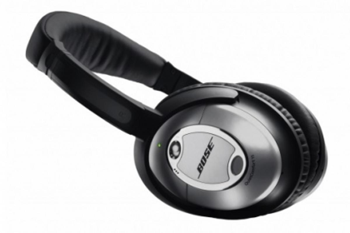 Bose QC15 headphones - developed from 30 years of research and testing